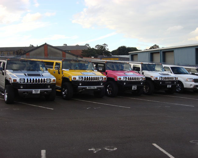 Jeep Limos and 4x4 Limos